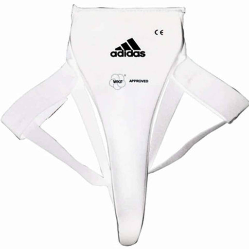 Adidas WKF Approved Female Groin Guard Protector Boxing Thai MMA Protective Gear - MMA DIRECT
