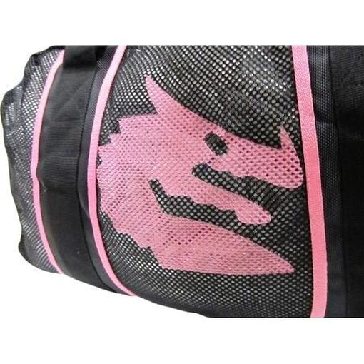 Morgan Endurance PRO Mesh Boxing MMA Gear Gym Equipment Bag [Red or Pink] - MMA DIRECT