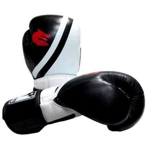 Morgan V2 Professional Leather Boxing Gloves (10-12-14-16oz) - MMA DIRECT