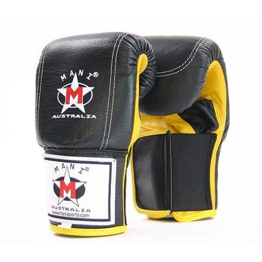 Mani Supreme Full Leather Bag Mitts Boxing / MMA Training Gloves - MMA DIRECT