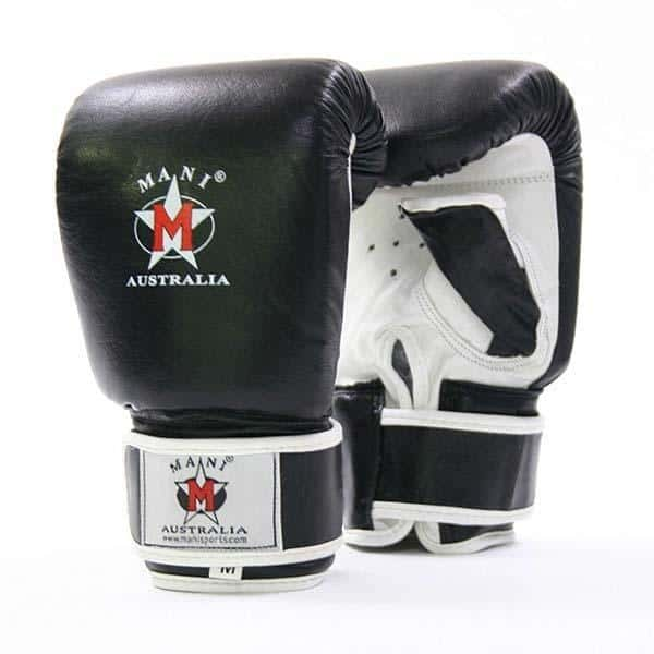 Mani Professional Full Leather Bag Gloves Boxing / MMA Training Gloves - MMA DIRECT