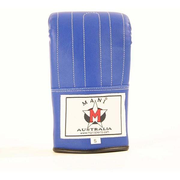 Mani Purple Leatherette Bag Mitts Training Gloves - MMA DIRECT