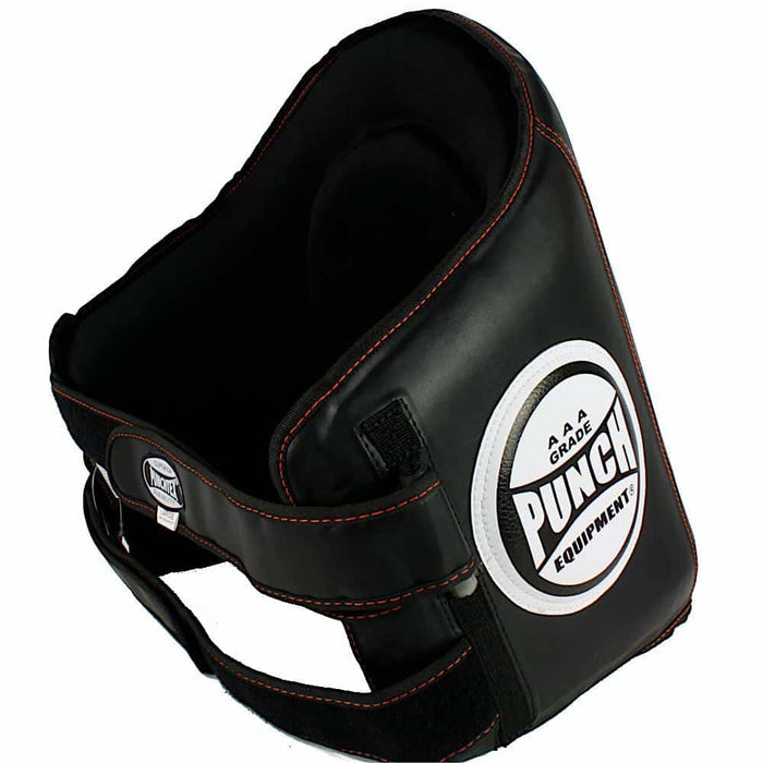 PUNCH Black Diamond Trainer Belly Pad Premium Kickboxing Muay Thai Training