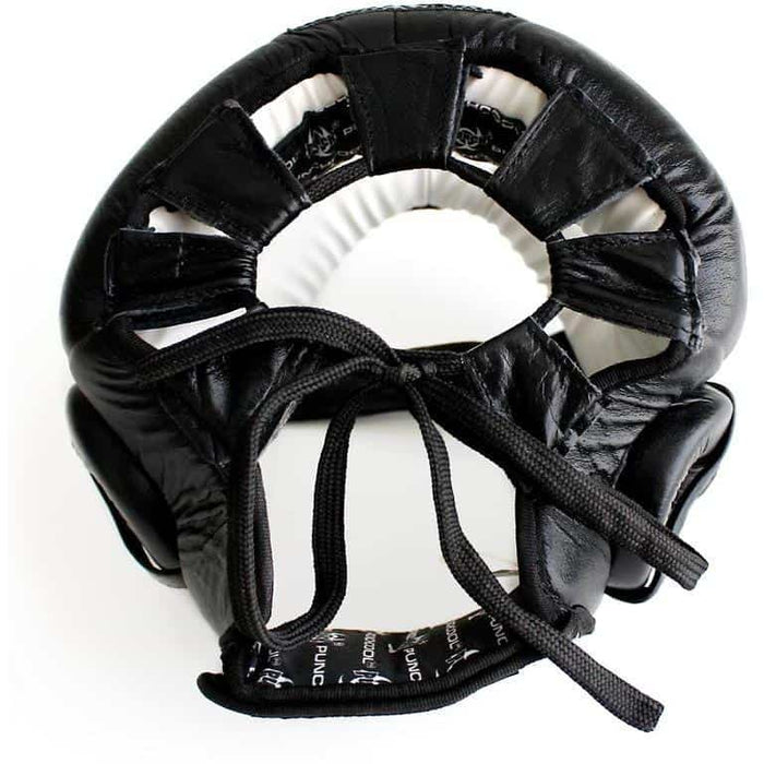 Black Diamond Sparring Head Gear Helmet Jaw/Nose Protection + FREE Mouth Guard - MMA DIRECT