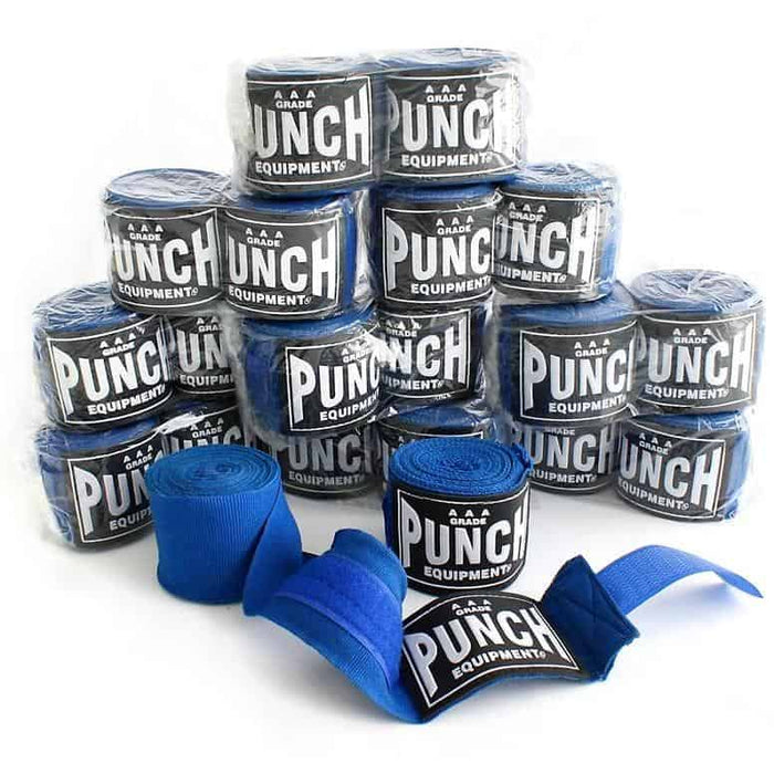10x PUNCH Stretch Boxing Handwraps Bulk Pack - MMA DIRECT