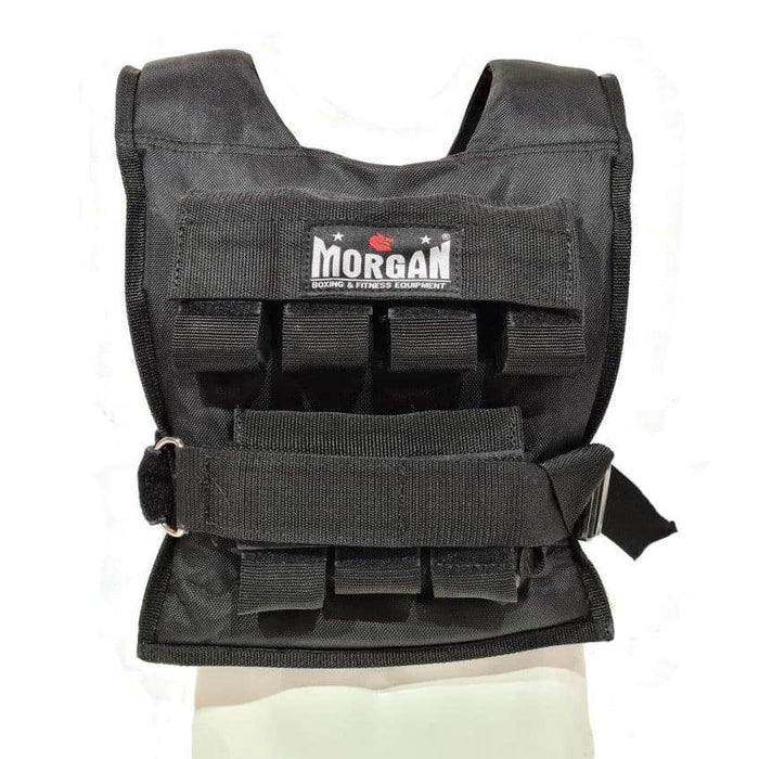 Morgan 15KG Weighted Vest Gym Weights Training Gear Rugby NRL MMA UFC Crossfit
