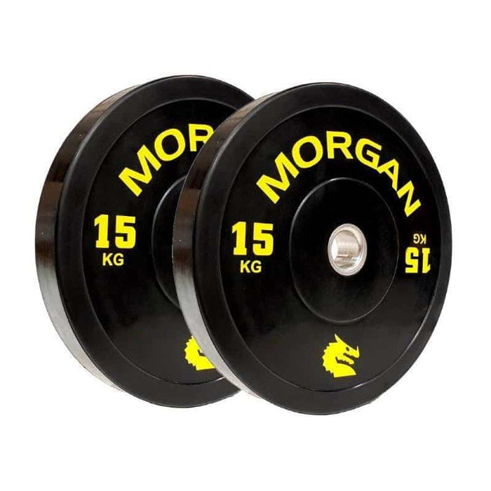 150KG Morgan Olympic Bumper Weight Plates Bulk Pack Gym Set - MMA DIRECT