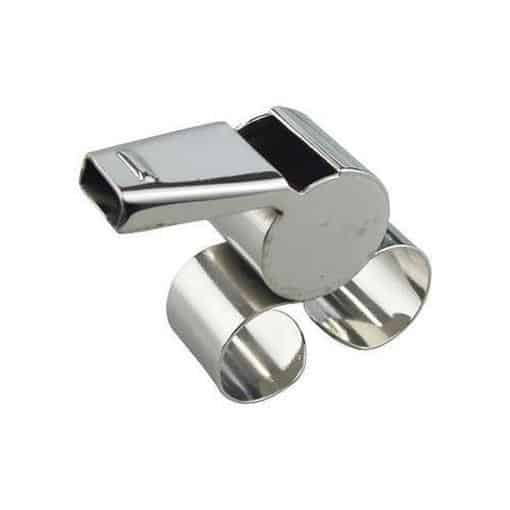 Madison Fingergrip Metal Whistle - Sports Grade