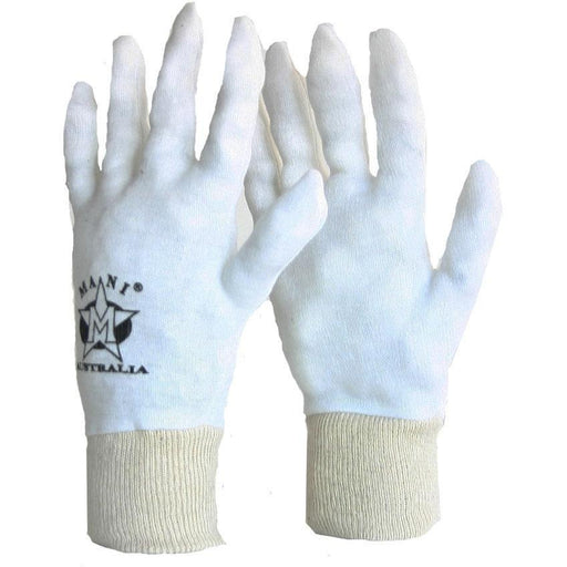 5x MANI Cotton Inners Washable Pair [M/L] MCI-100 - MMA DIRECT