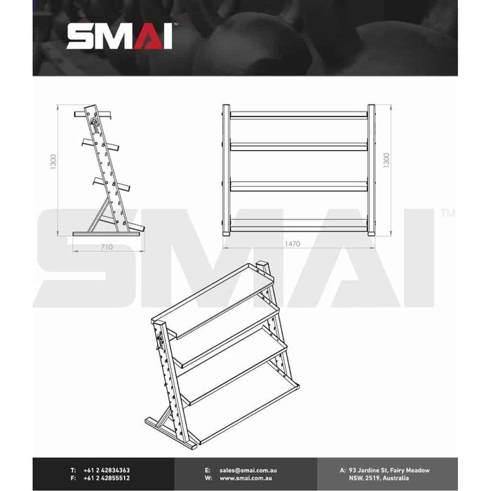 SMAI - Hybrid Storage Rack - MMA DIRECT