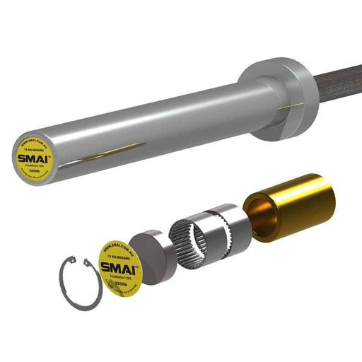 SMAI - Barbell (Bearing) - 20kg - MMA DIRECT