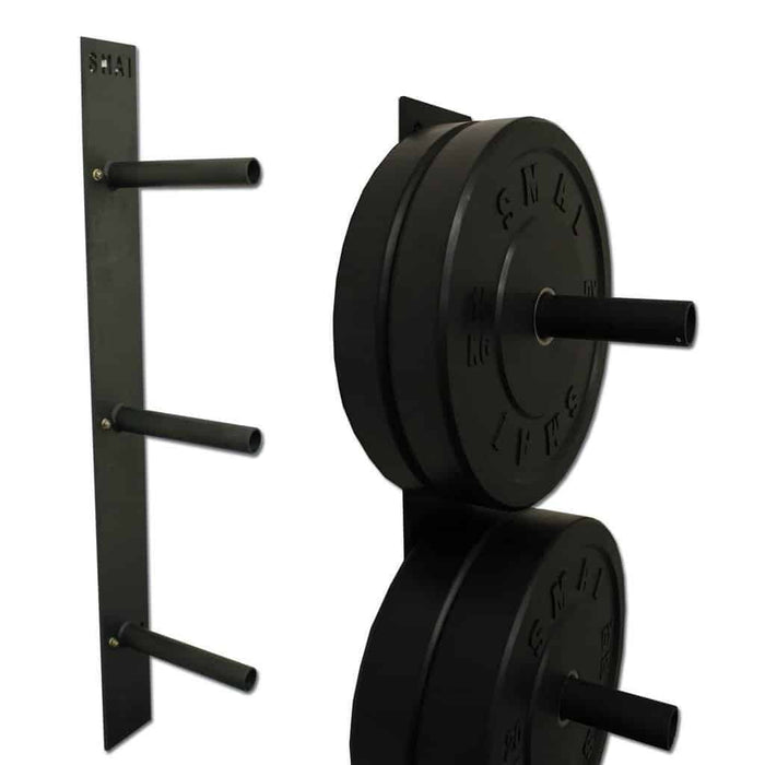 SMAI - Bumper Plate - Wall Mounted Rack - MMA DIRECT