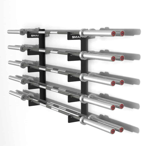 SMAI - 10 Barbell Gun Rack - MMA DIRECT