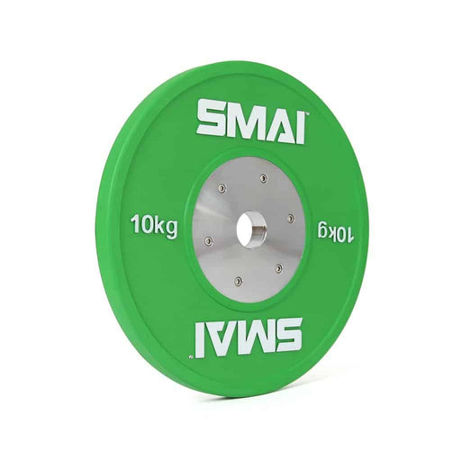 SMAI - Competition Bumper Plate 10kg (PAIR) - MMA DIRECT