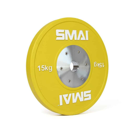 SMAI - Competition Bumper Plate 15kg (PAIR) - MMA DIRECT