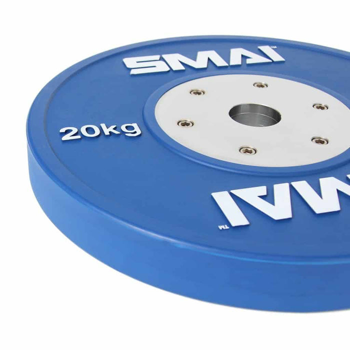 SMAI - Competition Bumper Plate 20kg (PAIR) - MMA DIRECT