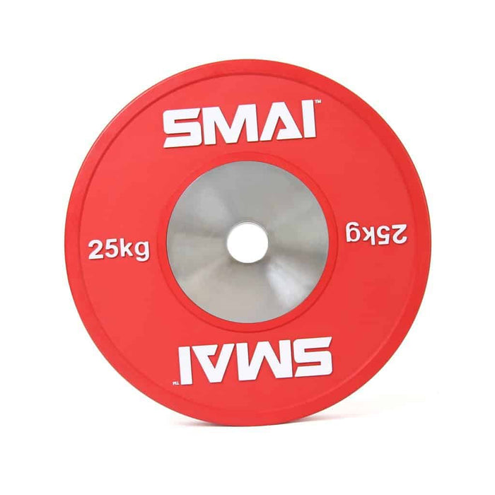 SMAI - Competition Bumper Plate 25kg (PAIR) - MMA DIRECT