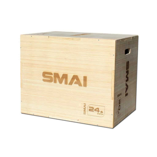 SMAI - Plyometric Box - Competition Wood - MMA DIRECT