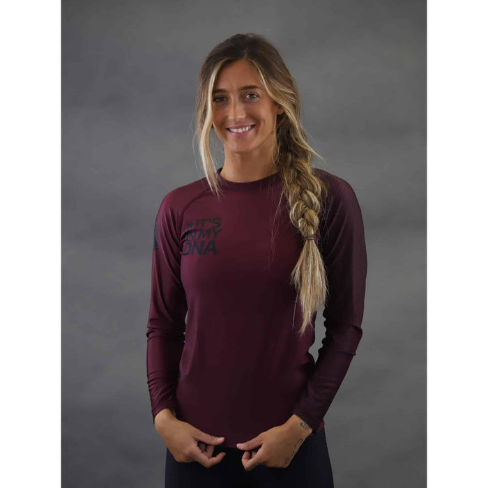 Braus DNA Women's Rash Guard - Long Sleeve