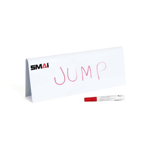 SMAI - Agility Hurdle – Stackable White Board – 15cm - MMA DIRECT