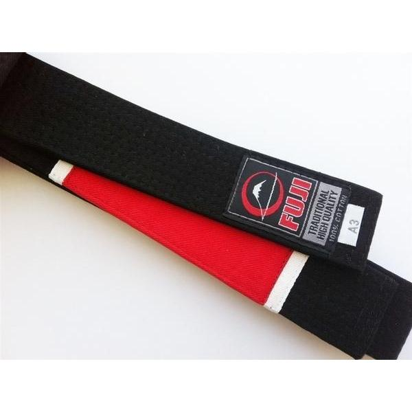 FUJI Jiu-Jitsu Instructor BJJ Black Belt 100% Cotton Premium Quality - MMA DIRECT