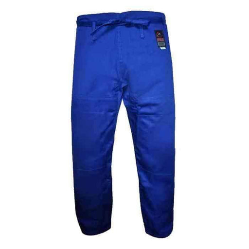 FUJI Jiu-Jitsu Pants Blue 100% Cotton BJJ Cut A1-A6 - MMA DIRECT