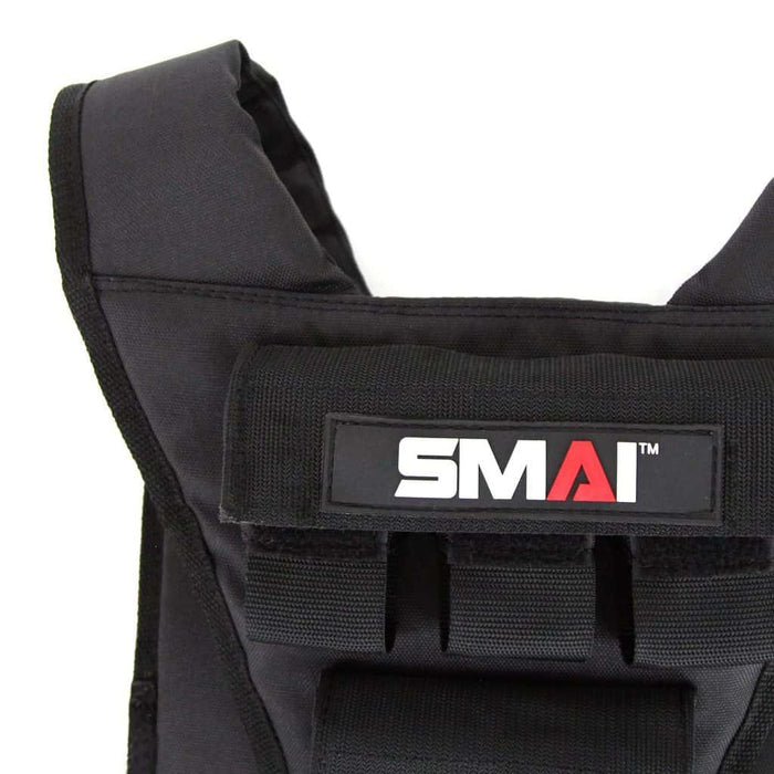SMAI 10kg Tactical Weight Vest Adjustable - MMA DIRECT