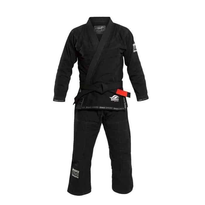 FUJI Suparaito BJJ Gi Black Super Light Jiu Jitsu IBJJF Approved - MMA DIRECT