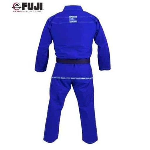 FUJI Suparaito BJJ Gi Blue Super Light Jiu Jitsu IBJJF Approved - MMA DIRECT