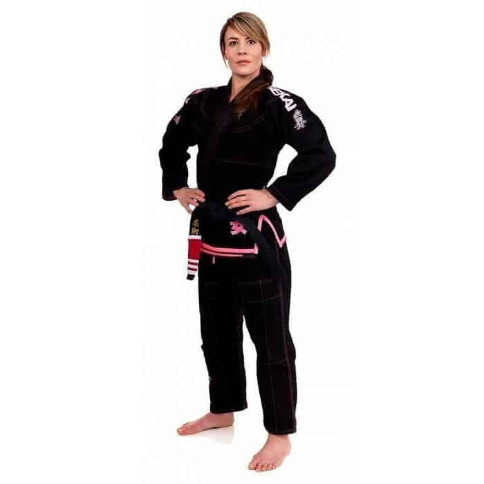 FUJI Sekai 'Onna' Women's Jiu-Jitsu Gi Black Light World Champ IBJJF Approved - MMA DIRECT