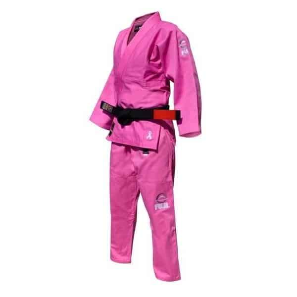 FUJI Pink Ribbon Training Gi Soft Light Durable Pre-Shrunk Cotton - MMA DIRECT