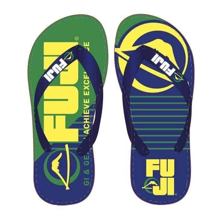 FUJI Brasileiro Flip Flops MMA BJJ Thai Workout Gear - MMA DIRECT