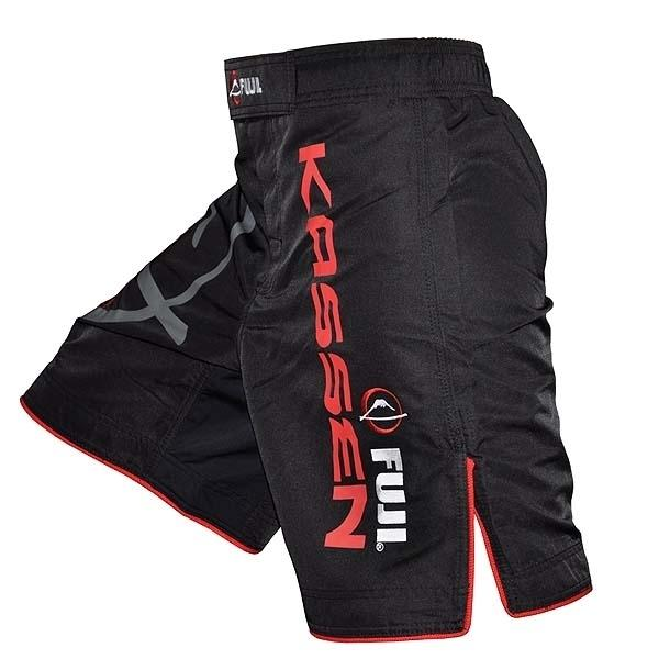 FUJI Kassen Fight Shorts Boxing MMA BJJ Thai Performance Fightwear Clothing - MMA DIRECT