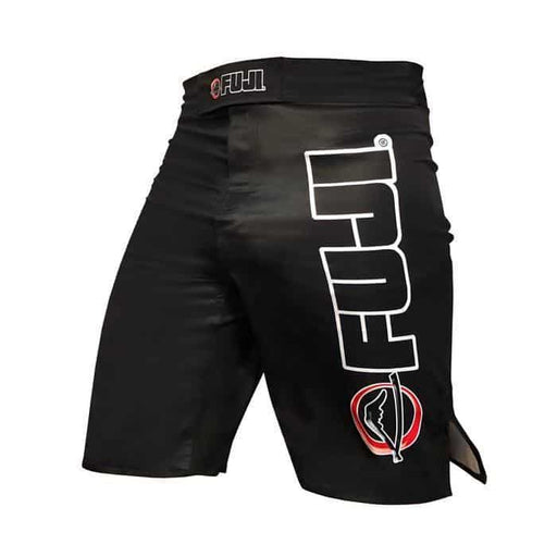FUJI Kids Obsidian IBJJF Approved Competition Fight Shorts Durable MMA BJJ Thai - MMA DIRECT