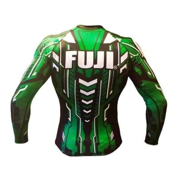 FUJI Robo Rash Guard Long Sleeve MMA BJJ Thai Workout Gear - MMA DIRECT