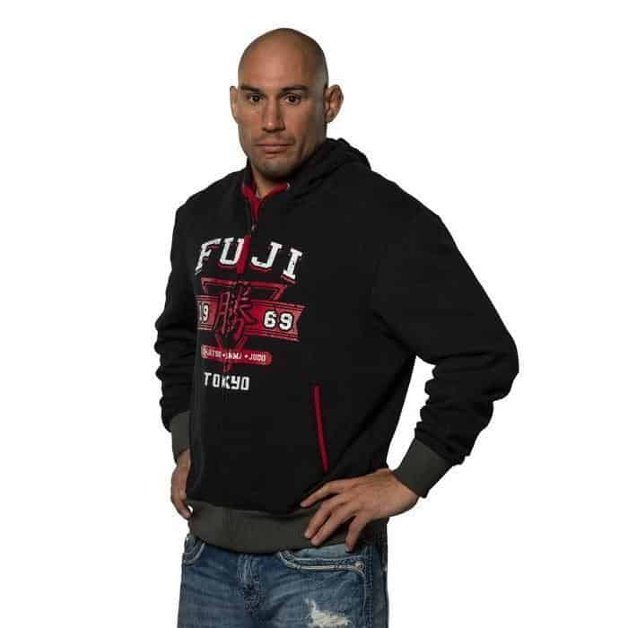 FUJI Tokyo 1969 Full Zip Hoodie Boxing MMA BJJ Thai Heavy-weight Cotton - MMA DIRECT