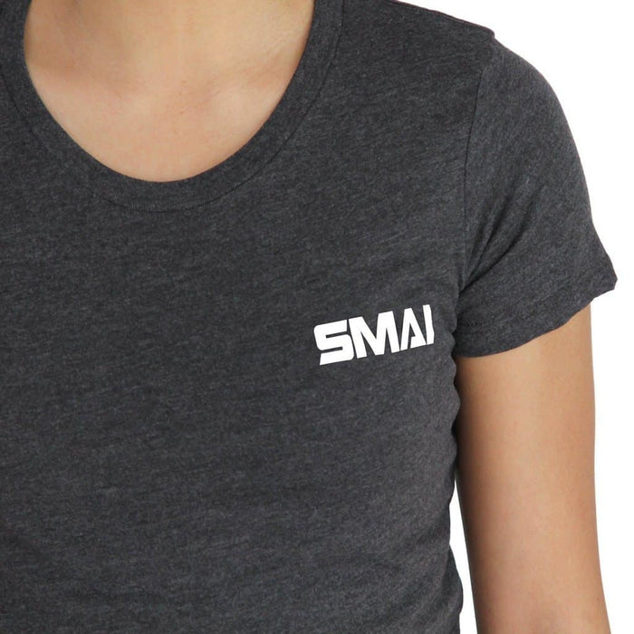 SMAI - Women's T-Shirt Asphalt Grey - MMA DIRECT