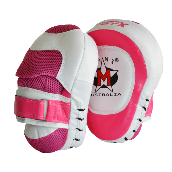 Mani Ladies Coaching Focus Pads Boxing MMA Muay Thai Training MFP-113 - MMA DIRECT