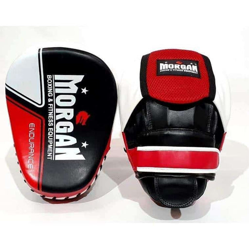 Morgan Endurance PRO Focus Pads Mitts (PAIR) Boxing / MMA / Thai - MMA DIRECT