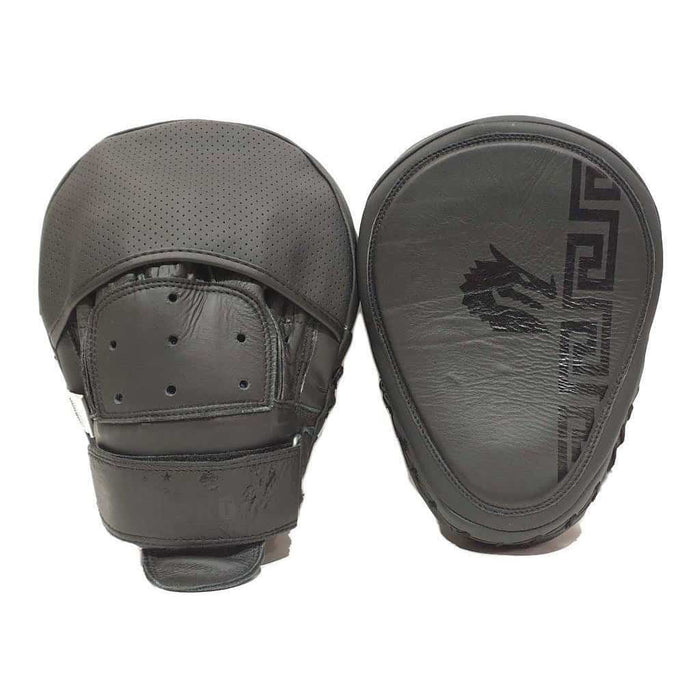 Morgan B2 Bomber Leather Focus Pads (Pair) - MMA DIRECT