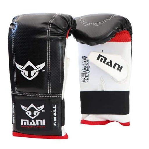 Mani Red & Black Head Start Series Bag Mitts Training Gloves - MMA DIRECT