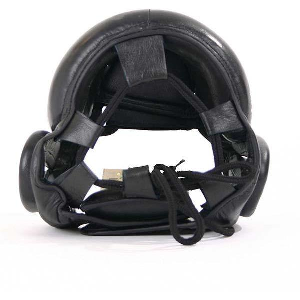 Mani Padded Full Face Metal Frame Leather Head & Nose Guard Gear [S/M/L] - MMA DIRECT