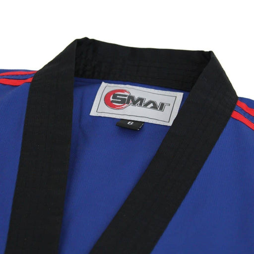 SMAI -  TKD Uniform - 8oz Demo Champion Dobok (Blue) - MMA DIRECT