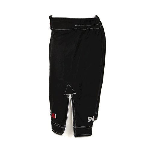 SMAI - MMA Shorts - Black - MMA DIRECT
