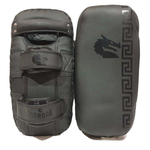 Morgan B2 Bomber Leather Thai Pads (Pair) - MMA DIRECT