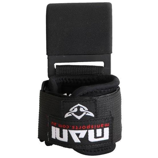 MANI Lat Hook Heavy Duty Weight Lifting Power Grips Gym Gloves - MMA DIRECT