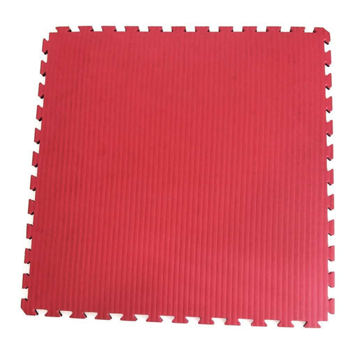 SMAI - Jigsaw Mat - 3cm SMAI Red/Black - MMA DIRECT