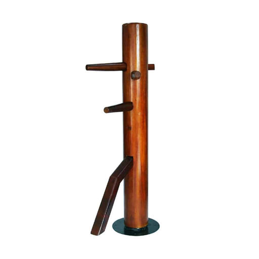 SMAI Kung Fu - Dummy Spinning Solid Rosewood - MMA DIRECT