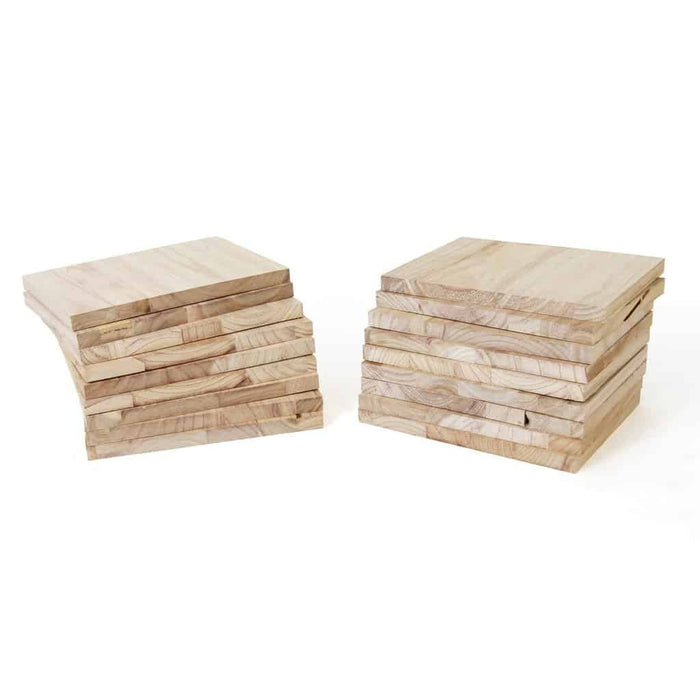 SMAI - Paulownia Wood Break Boards - 20 pk of 2cm - MMA DIRECT