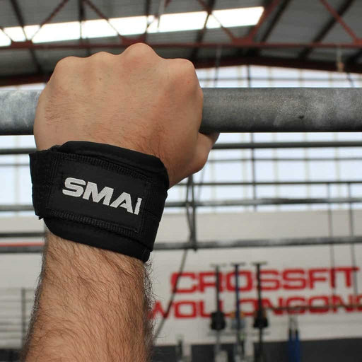 SMAI - Weight Lifting Straps - Padded - MMA DIRECT